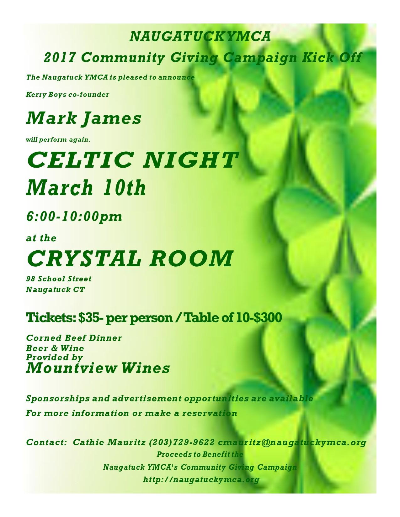 Celtic Night @ The Crystal Room